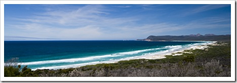 Freycinet National Park's Friendly Beach
