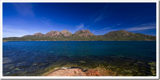 The Hazards in Freycinet National Park