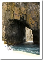 One of the many caves along the east coast of South Bruny Island