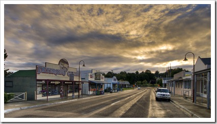 Sunrise in Omeo
