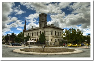 The old post office in Echuca's town centre