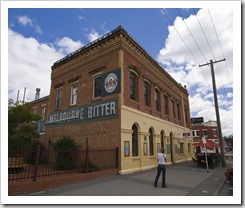 One of the many pubs lining Echuca's streets