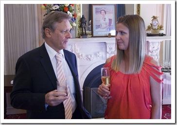 Steve and Lisa at Sophie's graduation