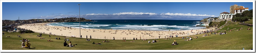 Australia's most famous strip of sand: Bondi Beach