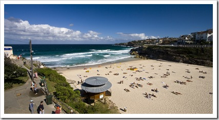 Tamarama Beach on the walk between Bondi and Bronte