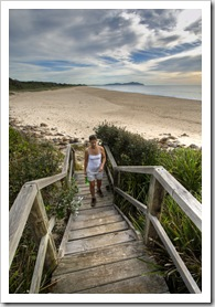 A morning walk around the cape in Booti Booti National Park