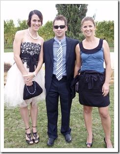 Mel, Bevan and Lisa