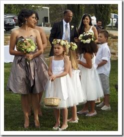 Here comes the bride...