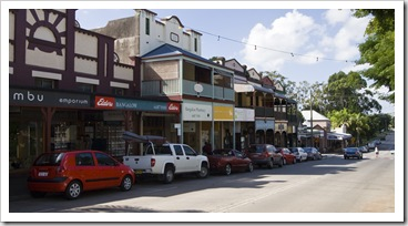 The quaint hinterland town of Bangalow