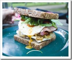 Gina's last dinner: Sam's chicken sandwiches