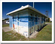 Raibow Beach toilets