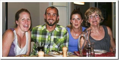 Kate, Sam, Lisa and Angie