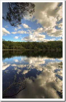 Poona Lake in Great Sandy National Park