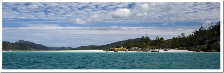 The famous Hill Inlet on Whitsunday Island