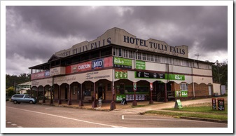 The Hotel Tully Falls in Ravenshoe