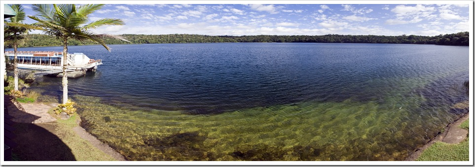 Lake Barrine in Crater Lakes National Park