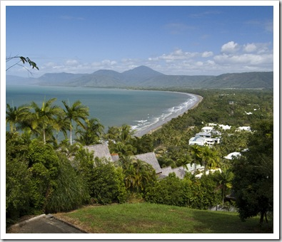 Port Douglas with the Macalister Range in the distance