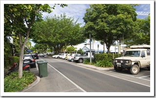 The Tank on the main street in Port Douglas