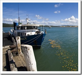 Mouth of the Endeavour River in Cooktown