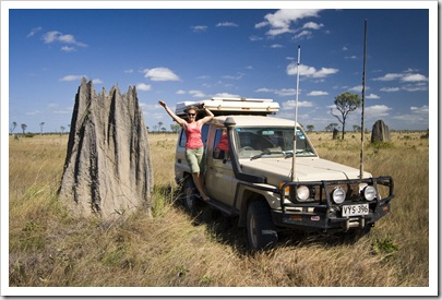 Crossing the vast expanse of tall grass and termite mounds that make up Nifold Plains