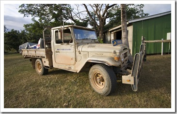 1975 LandCruiser at Laura