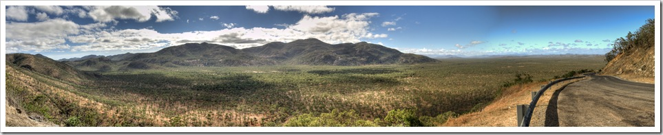 Panoramic on the way between Cooktown and the Atherton Tablelands as we exit Cape York
