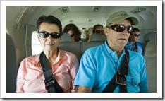 Jenni and Steve on the way to Lizard Island