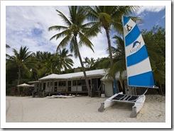 Resort activities hut