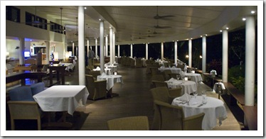 The Lizard Island Resort dining room