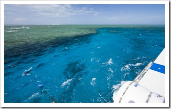 The famous Cod Hole SCUBA diving spot on the outer reef