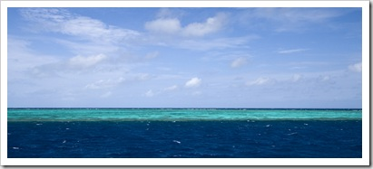Great Barrier Reef colours