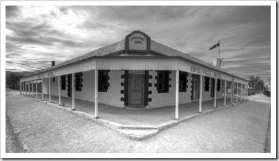 The famous Birdsville Hotel