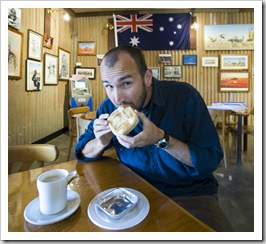Breakfast at the Birdsville Bakery
