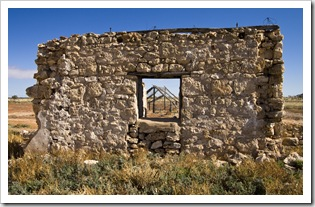 Ruins of Cadelga Homestead on Cordillo Downs Station