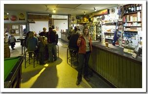 The front bar at the Innamincka Hotel