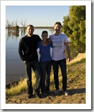Sam, Lisa and Todd at Lake Wetherell