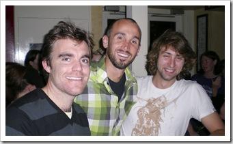 Michael, Sam and Tim